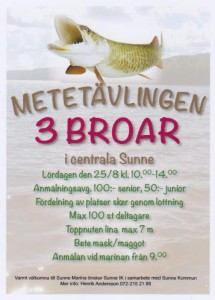 Tävlingen 3 broar i Sunne 2018